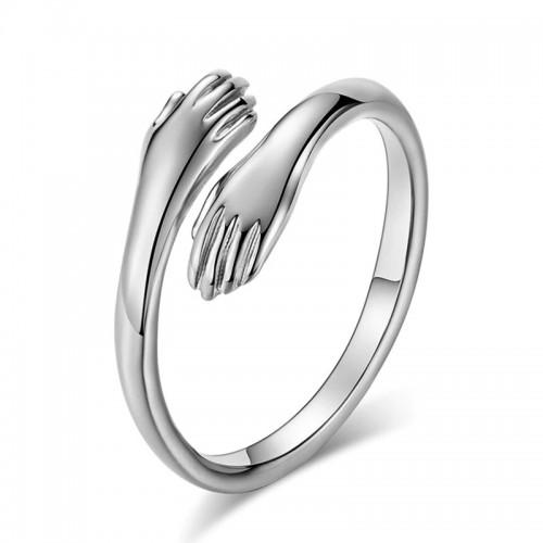 Arihant Amazing Heart Design Silver Plated Adjusta...