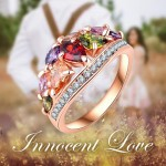 Arihant Multicolour Cubic Zirconia Fashion Ring 5533
